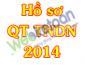 Hồ sơ và hướng dẫn kê khai quyết toán thuế TNDN 2014