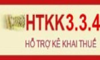 Nâng cấp ứng dụng iHTKK 3.1.5, HTKK 3.3.4