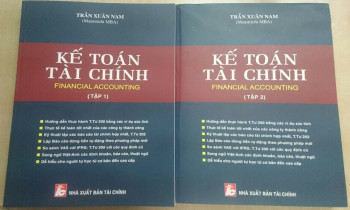 """Bộ sách """"Kế toán tài chính"""" của tác giả Trần Xuân Nam"""