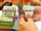 Mức lương cơ sở chính thức tăng lên 1.210.000 đồng
