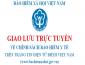 Giao lưu trực tuyến về chính sách BHYT trên Website BHXH Việt Nam  ngày 28/06