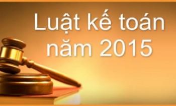 Đề cương giới thiệu Luật Kế toán 2015