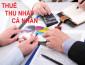 Hướng dẫn về thuế TNCN của Tổng cục thuế
