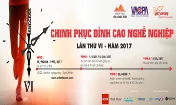 Chinh Phục Đỉnh Cao Nghề Nghiệp VI- 2017
