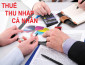 Những điều cần biết về hoàn thuế TNCN năm 2017