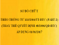 Sơ đồ chữ T theo Thông tư 133/2016/TT-BTC (Phần còn lại)