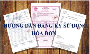 Hướng dẫn đăng ký sử dụng hóa đơn