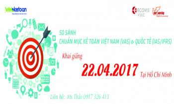 So sánh chuẩn mực Kế Toán Việt Nam (VAS) và Quốc Tế (IAS/IFRS)