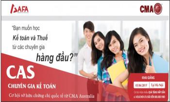 """Chuyên gia Kế toán CAS – Mô hình học Kế toán """"siêu mới"""""""