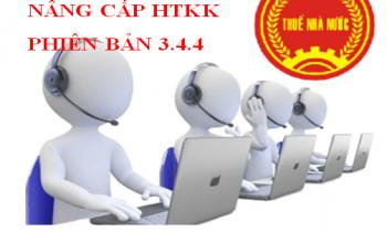 Nâng cấp ứng dụng HTKK phiên bản 3.4.4, iHTKK 3.4.5