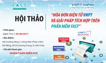 Hóa đơn điện tử VNPT và giải pháp tích hợp trên phần mềm FAST