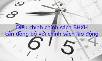 Điều chỉnh chính sách BHXH cần đồng bộ với chính sách lao động