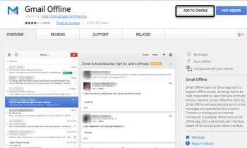 Tiện ích Gmail Offline