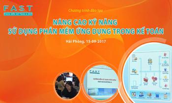 Chương trình : HDSD phần mềm kế toán FAST ACCOUNTING 11 tại Hải Phòng ( Miễn phí )