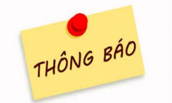 Thông báo  tạm dừng Hệ thống Khai thuế qua mạng, Dịch vụ thuế điện tử