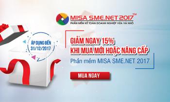 Cơ hội cuối cùng trong năm để sở hữu Phần mềm kế toán MISA với giá ưu đãi