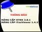 Nâng cấp HTKK lên phiên bản 3.8.1, iTaxViewer phiên bản 1.4.3