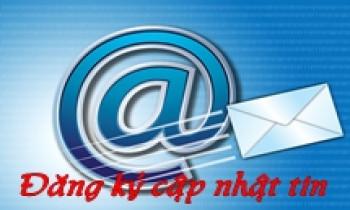 Hướng dẫn đăng ký cập nhật tin qua email