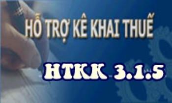 HTKK 3.1.5