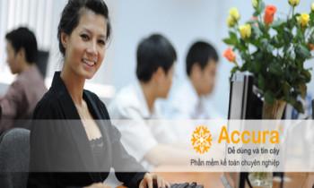 Phần mềm kế toán Accura – phần mềm dành cho doanh nghiệp vừa và nhỏ!