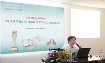 Fast Accounting 11 – Sản phẩm ra mắt đúng nhu cầu thị trường