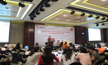 """Hội thảo """"Cập nhật các quy định thuế có ảnh hưởng quan trọng đối với Doanh Nghiệp"""""""