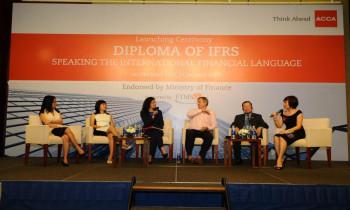 Lễ ra mắt chứng chỉ Diploma về Chuẩn mực báo cáo tài chính quốc tế (DipIFR)