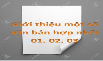 Giới thiệu một số văn bản hợp nhất khi Luật 106/2016/QH13 được ban hành