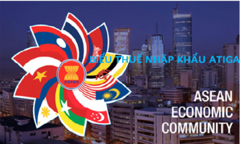 Biểu thuế nhập khẩu đặc biệt của Việt Nam để thực hiện hiệp định thương mại hàng hóa ASEAN (biểu thuế ATIGA)