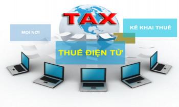 Thí điểm hoàn thuế GTGT bằng phương thức điện tử