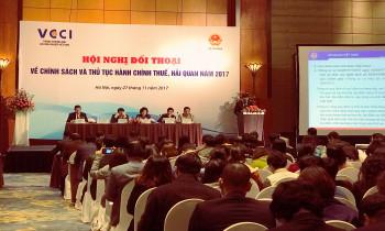 Cuối tháng 11, Bộ Tài chính đã có buổi đối thoại với doanh nghiệp về thủ tục hành chính thuế, hải quan