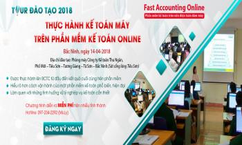 Đào tạo thực hành miễn phí kế toán máy trên phần mềm kế toán online tại Bắc Ninh