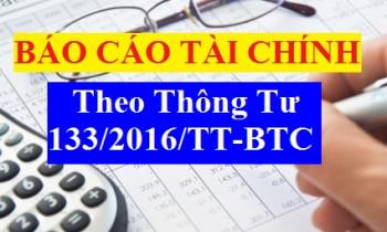 Đã có thông báo chính thức của Tổng cục thuế về việc nộp BCTC và quyết toán thuế TNDN theo Thông tư 133/2016/TT-BTC