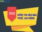 Điểm tin một số văn bản mới về Thuế, Lao động đầu năm 2018