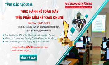 Đào tạo thực hành miễn phí kế toán máy trên phần mềm kế toán online tại Hải Phòng