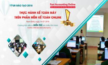 Đào tạo thực hành miễn phí kế toán máy trên phần mềm kế toán online tại Nam Định