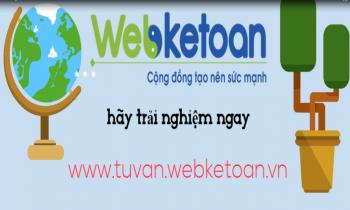 Trang tư vấn nghiệp vụ của Webketoan