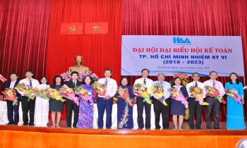 Đại hội đại biểu Hội Kế Toán TP Hồ Chi Minh nhiệm kỳ VI (2018-2023)