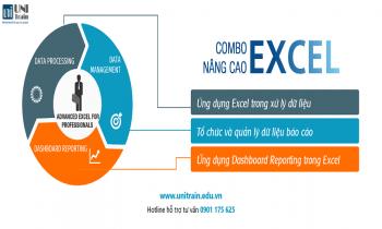 Chương trình đào tạo Combo Excel nâng cao