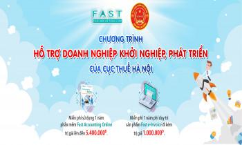 """FAST tham gia chương trình """"Hỗ trợ doanh nghiệp khởi nghiệp, phát triển"""" của Cục thuế Hà Nội"""