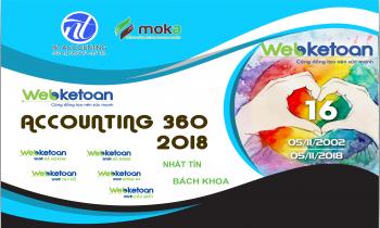 Lời cảm ơn từ Ban tổ chức cuộc thi Webketoan Accounting 360