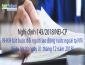 Nghị định 143/2018/NĐ-CP về BHXH bắt buộc với lao động nước ngoài tại Việt Nam
