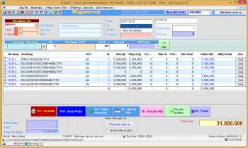 Giới thiệu phần mềm VQSALE – phần mềm kế toán bán hàng chuyên nghiệp của VQSOFT