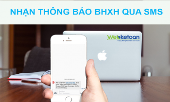 BHXH ra mắt tính năng thông báo qua SMS