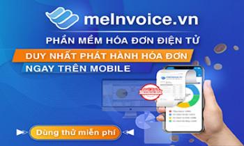 meInvoice.vn – Phần mềm hóa đơn điện tử đầu tiên và duy nhất phát hành hóa đơn trên Mobile