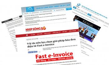 Nhiều trang báo, tạp chí công nghệ đưa tin về giải pháp hóa đơn điện tử Fast e-Invoice