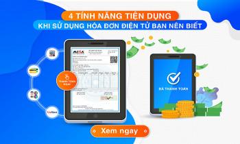 4 Tính năng tiện dụng khi sử dụng hóa đơn điện tử bạn nên biết