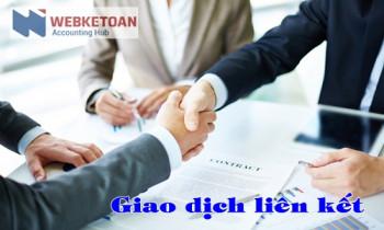 Định nghĩa các giao dịch liên kết