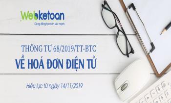Thông tư 68/2019/TT-BTC