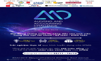 "Auditing and Accounting Challenge 2019 – ""Beyond the world"""